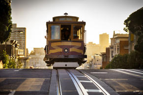 Cable Car in San Francisco.