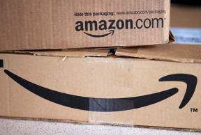 Amazon packages in Golden, Colorado, August 27, 2014.