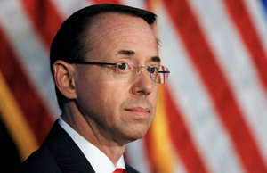 Former Deputy Attorney General Rod Rosenstein.