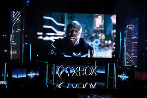 Crackdown 3 with actor Terry Crews is previewed at the Microsoft Xbox E3 2017 Br...