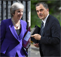 Brexit: Theresa May backs chief whip accused of telling Tory MPs to ignore 'pair...