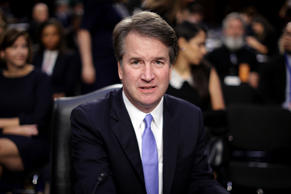 File photo, Brett Kavanaugh; Supreme Court nominee Judge Brett Kavanaugh prepare...