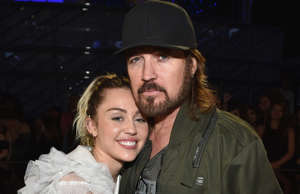 Billy Ray Cyrus and Miley Cyrus.