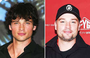 Tom Welling during The 2002 Teen Choice Awards - Press Room at Universal Amphith...