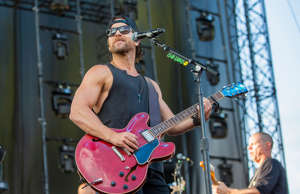 Singer and musician Kip Moore performs at Gorge Amphitheatre on August 02, 2019 ...