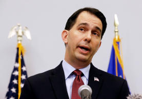 Wisconsin Governor Scott Walker in Madison, Wisconsin, September 21, 2015.