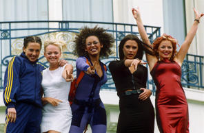 THE 5OTH CANNES FILM FESTIVAL, FRANCE - 1997 SPICE GIRLS PROMOTING FILM '' SPICE...