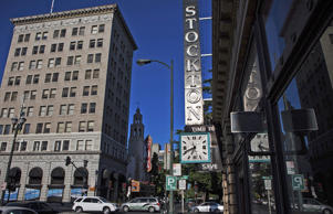 Downtown Stockton, California