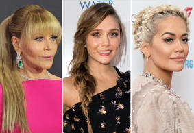 Jane Fonda, Elizabeth Olsen and Rita Ora