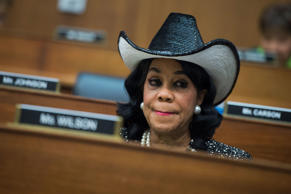 Rep. Frederica Wilson, R-Fla., a House Transportation and Infrastructure Committ...