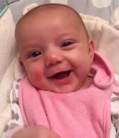 Did this 8-week-old newborn actually just say 'I love you?'