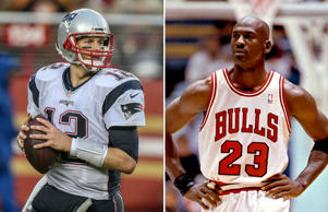 Michael Jordan won six NBA championships with the Bulls. Tom Brady can match tha...