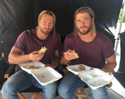 Chris Hemsworth's longtime stunt double Bobby Holland Hanton revealed that <a hr...