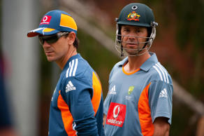 Justin Langer and Ricky Ponting