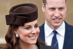 Catherine, Duchess of Cambridge and Prince William, Duke of Cambridge attend the...