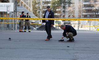 Toronto police investigates an incident where a van struck multiple people at a ...
