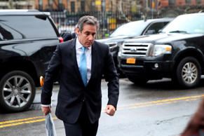 Michael Cohen, President Donald Trump's personal attorney, arrives at federal co...