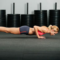 These require the same movement as a pushup, but lowering sloooowly adds an e...