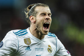 (L-R) Gareth Bale of Real Madrid during the UEFA Champions League final between ...