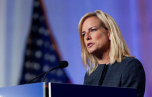 Secretary of Homeland Security Kirstjen Nielsen speaks at the National Sheriffs'...