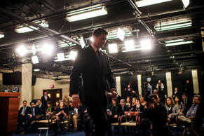 Speaker of the House Paul Ryan, R-Wis., concludes his weekly news conference in ...