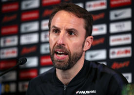 England manager Gareth Southgate has dislocated his right shoulder while running...