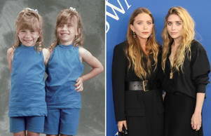 Full House - 1989; NEW YORK, NY - JUNE 04: Mary-Kate Olsen and Ashley Olsen atte...