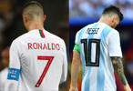 World Ronaldo Messi exit star