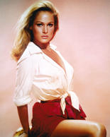 Swiss actress Ursula Andress, circa 1965. (Photo by Silver Screen Collection/Get...