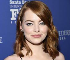 Emma Stone channels 'Game of Thrones' on set of new series