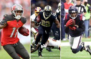 DeSean Jackson, Mark Ingram and DeAndre Hopkins.