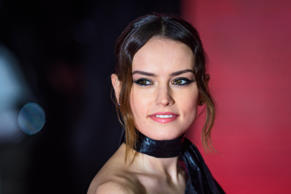 Daisy Ridley attending the european premiere of Star Wars: The Last Jedi held at...