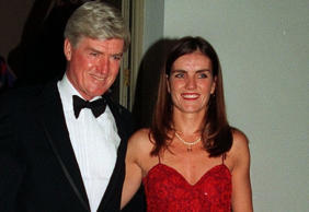 Lord Cecil Parkinson with daughter Mary