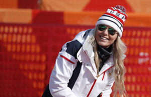 Lindsey Vonn of the U.S. will compete in what she says probably will be her last...