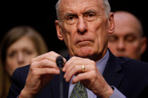 Director of National Intelligence (DNI) Dan Coats testifies before the Senate In...