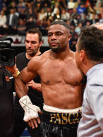 CAPTION: MONTREAL, QC - JUNE 03: Jean Pascal reacts after his fight against Elei...