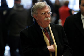 FILE: Former U.S. Ambassador to the United Nations John Bolton arrives for a mee...
