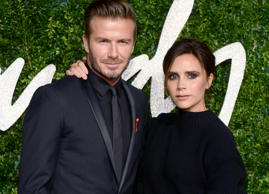 Victoria Beckham has revealed why her husband David was banned from her first fa...