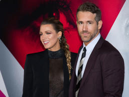 "Blake Lively and Ryan Reynolds attend the world premiere of ""A Simple Favor"" at ..."