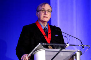 Medalist Paul Allen accepts award at the 2015 Carnegie Medal Of Philanthropy Awa...