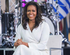 "Michelle Obama participate in the International Day of the Girl on NBC's ""Today""..."