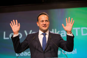 Taoiseach Leo Varadkar pictured speaking at the opening of the Fine Gael Ard Fhe...
