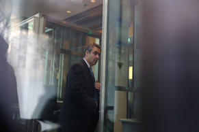 Michael Cohen, U.S. President Donald Trump's former attorney, arrives for his se...