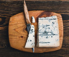 The perfect cheeseboard consists of a rich hard cheese, a creamy soft and a p...