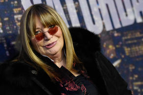 Penny Marshall attends the SNL 40th Anniversary Special at Rockefeller Plaza on ...