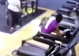 Never quit: Epic treadmill double-fail tests one woman's perseverance