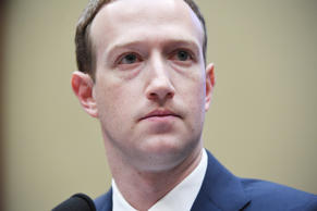 WASHINGTON, DC - APRIL 11: Facebook CEO, Mark Zuckerberg appears for a hearing w...