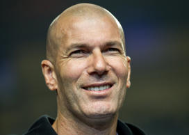 Back in Madrid, Zinedine Zidane