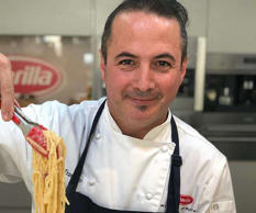 The helpful information was shared by Barilla Australia's Andrea Tranchero (pict...