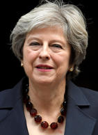 Britain's Prime Minister Theresa May leaves 10 Downing Street, London, Britain, ...